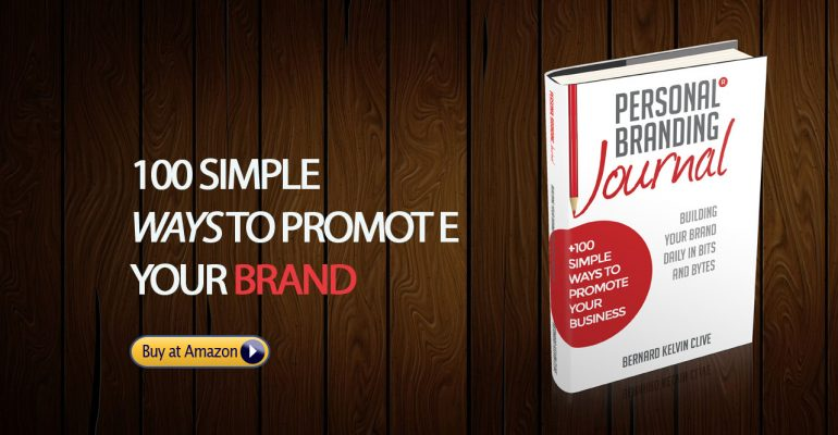 100 ways to promote your brand - personal branding book