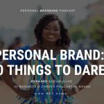 Personal Brand Goals