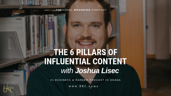 Joshua Lisec Guses on The Personal Branding Podcast Shiw